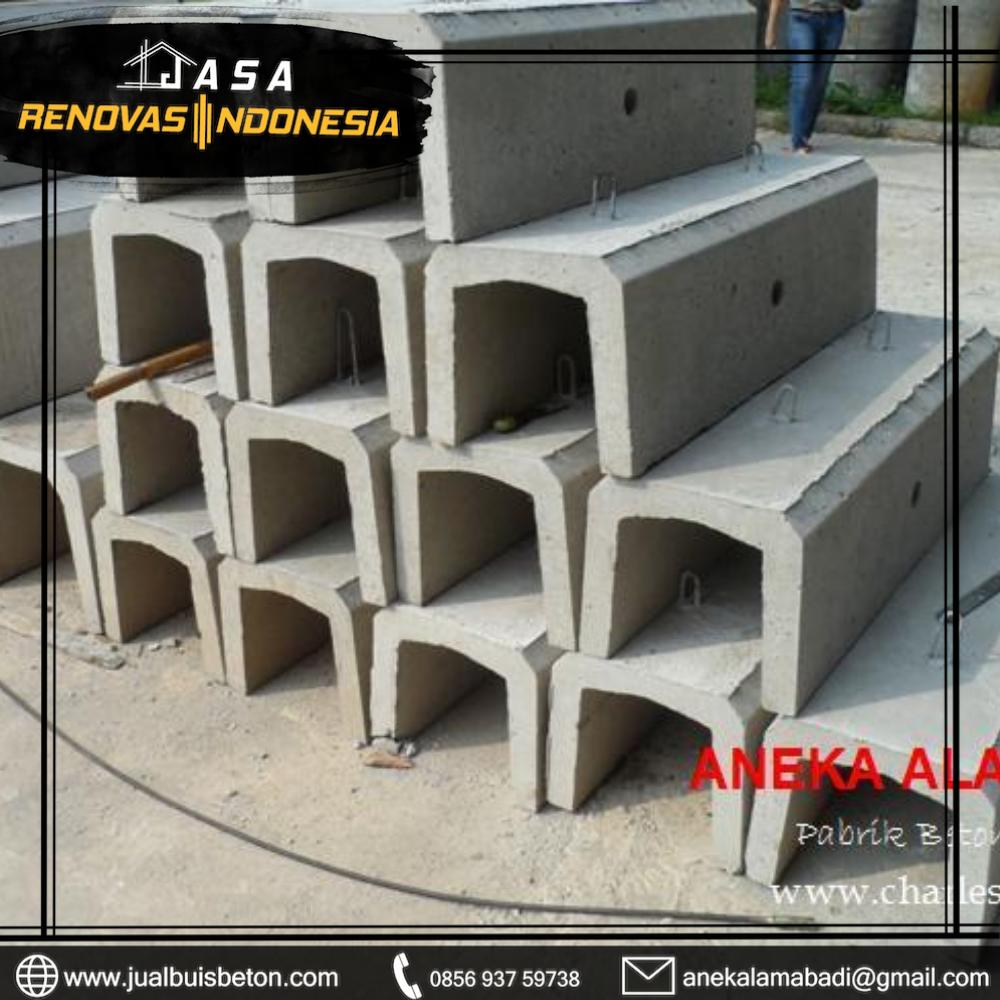 jual saluran u beton