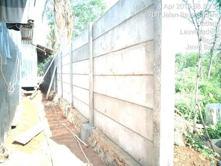 pagar beton
